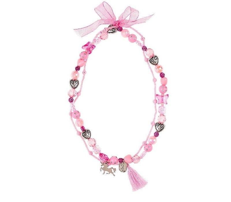 Souza! Necklace Trish Unicorn Pink