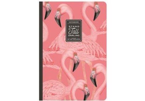 Legami Legami Quaderno A5 Medium Plain Notebook Flamingo