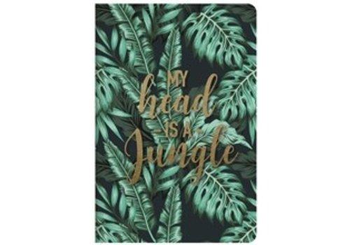 Legami Legami Quaderno A5 Medium Plain Notebook Jungle