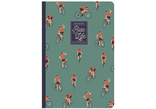 Legami Legami Quaderno A5 Medium Plain Notebook Bike Lover