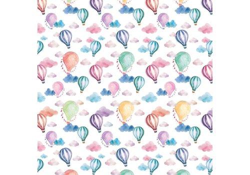 Legami Legami Geschenkpapier - Luchtballonnen