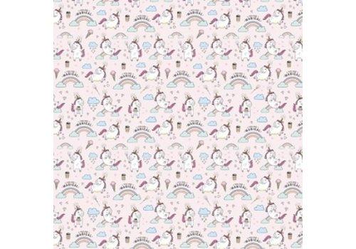 Legami Legami  Wrapping Paper - Unicorn