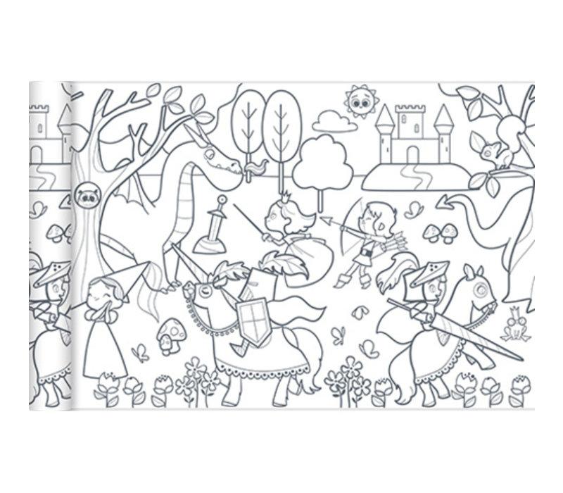 Avenue Mandarine Graffy Roll Princesses and Knights