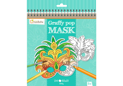 Avenue Mandarine Avenue Mandarine Graffy Pop Mask Rio