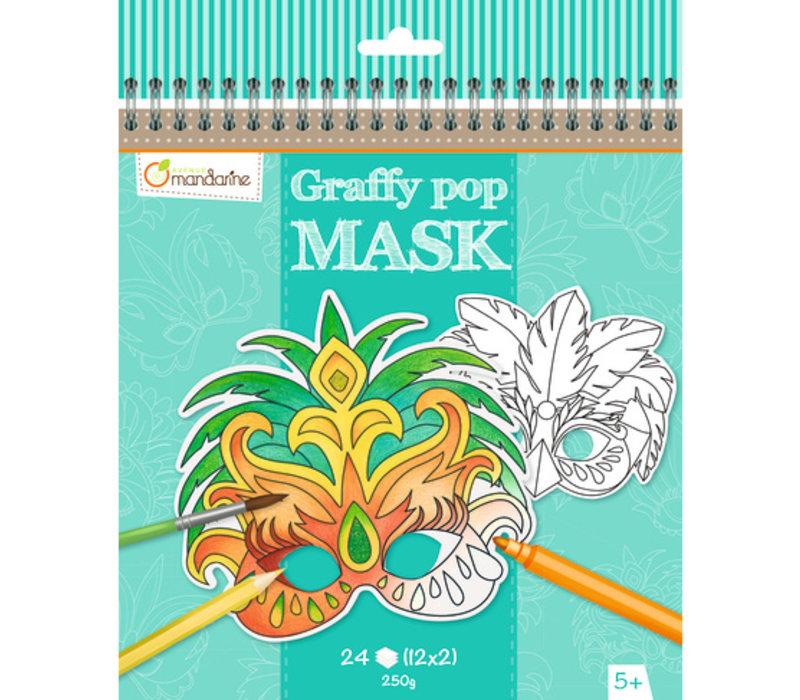 Avenue Mandarine Graffy Pop Mask Rio
