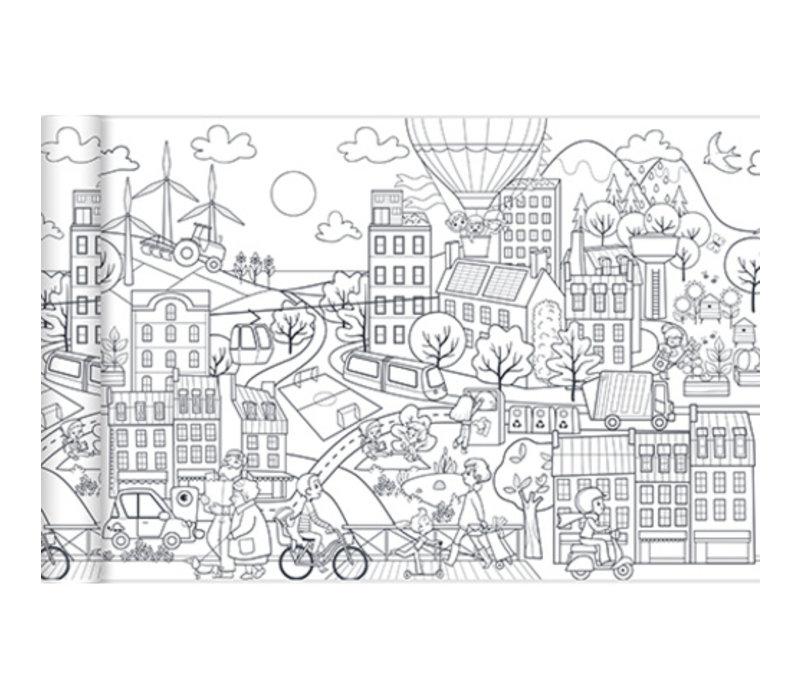 Avenue Mandarine Graffy Roll Ecological City