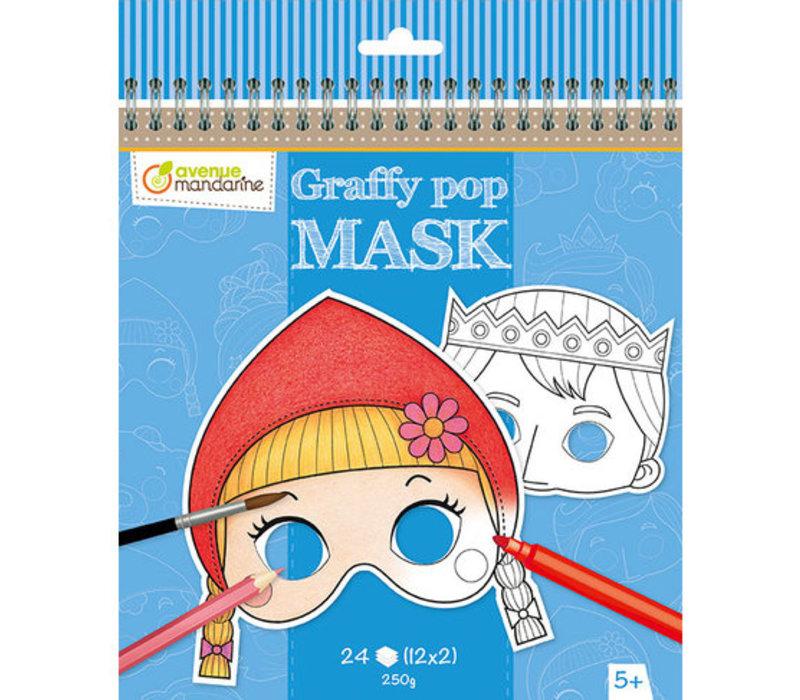 Avenue Mandarine Graffy Pop Mask Grimm's Fairy Tales
