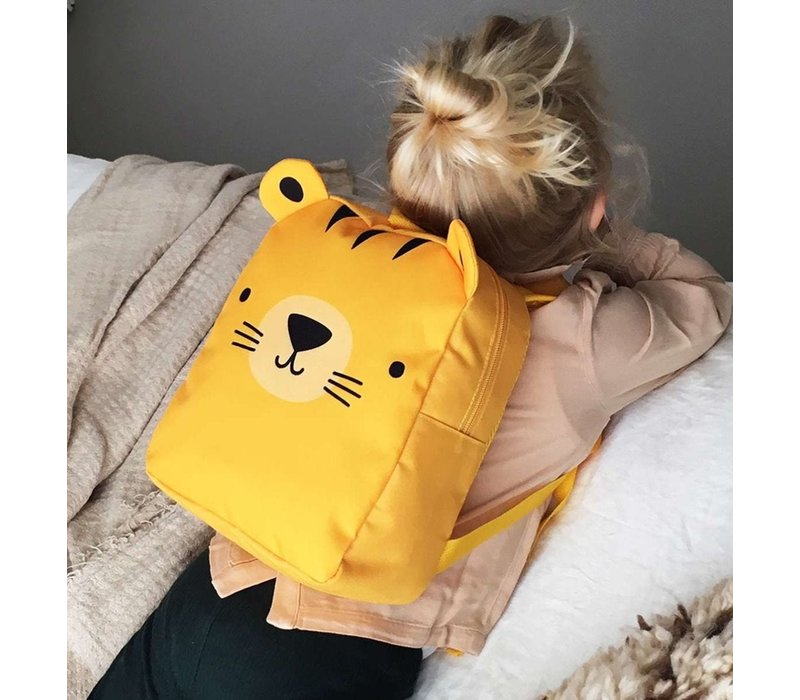 A Little Lovely Company Little Backpack Tiger