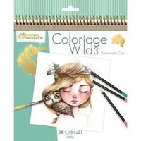 Avenue Mandarine Coloriage Wild 3 Emmanuelle Colin