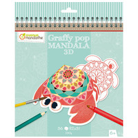 Avenue Mandarine Graffy Pop Mandala 3D