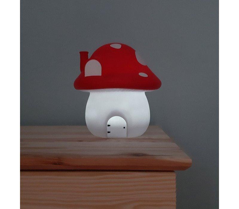 A Little Lovely Company Night Light Mushroom House Forest