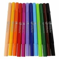 Avenue Mandarine Double-Ended Felt-Tip Pens 12 pcs