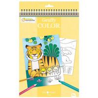 Avenue Mandarine Graffy Kleurboek, Mama en Babydier