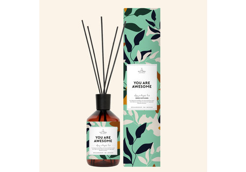 The Gift Label The Gift Label Reed Diffuser - You Are Awesome