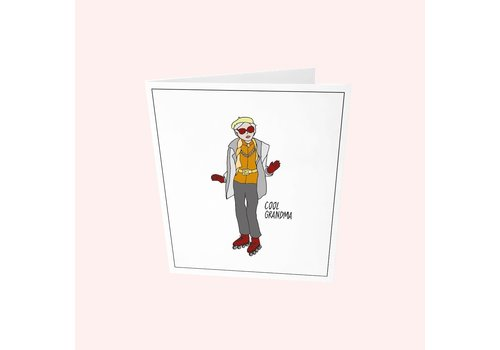 The Gift Label The Gift Label Greeting Card - Cool Grandma