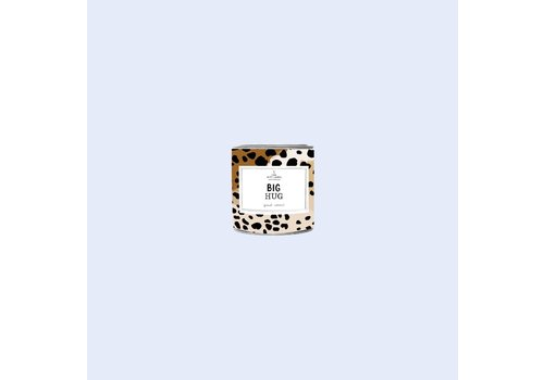 The Gift Label The Gift Label Scented Candle Tin 90g  Big Hug  fresh cotton