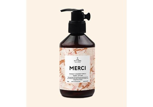 The Gift Label The Gift Label Hand Lotion Merci 250 ml