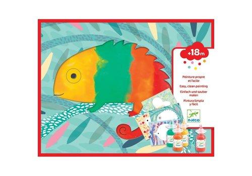 Djeco Djeco Schilderen voor Kleintjes Kliederen met Vingerverf