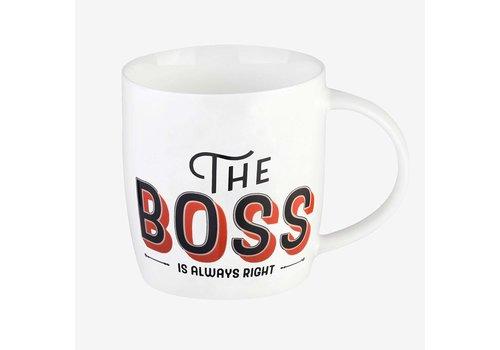 Legami Legami Buongiorno Mug Aphorism The Boss