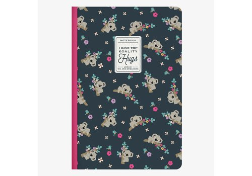 Legami Legami Quaderno A5 Medium Plain Notebook Koality Hugs