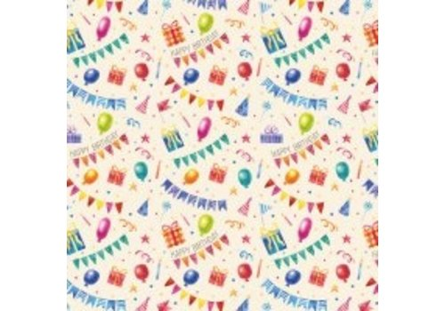 Legami Legami  Wrapping Paper - Happy Birthday
