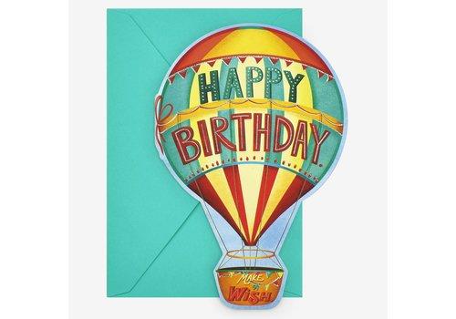 Legami Legami Wenskaart Happy Birthday Luchtballon