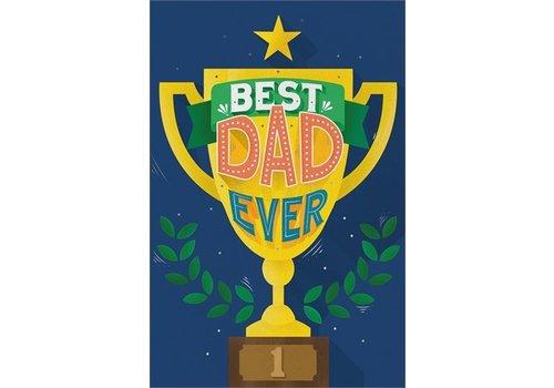Legami Legami wenskaart Best Dad Ever
