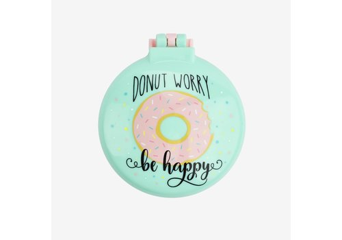 Legami LEGAMI Opvouwbare Haarborstel met Spiegel Donut