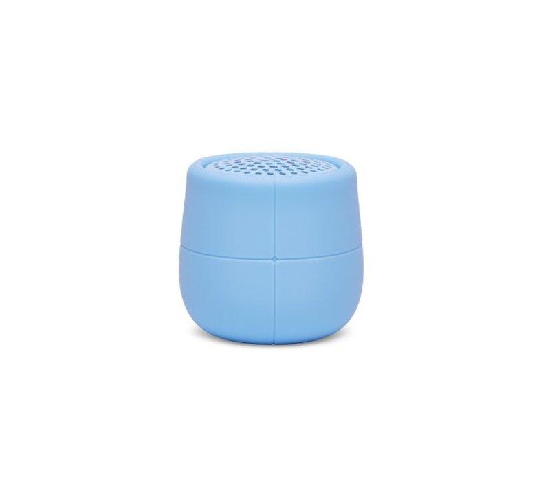 Lexon Mino X Drijvende Speaker Rubber Lichtblauw