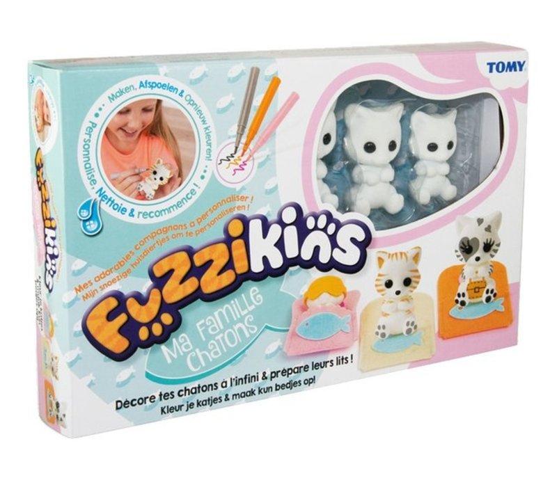 Tomy Fuzzikins Kittens