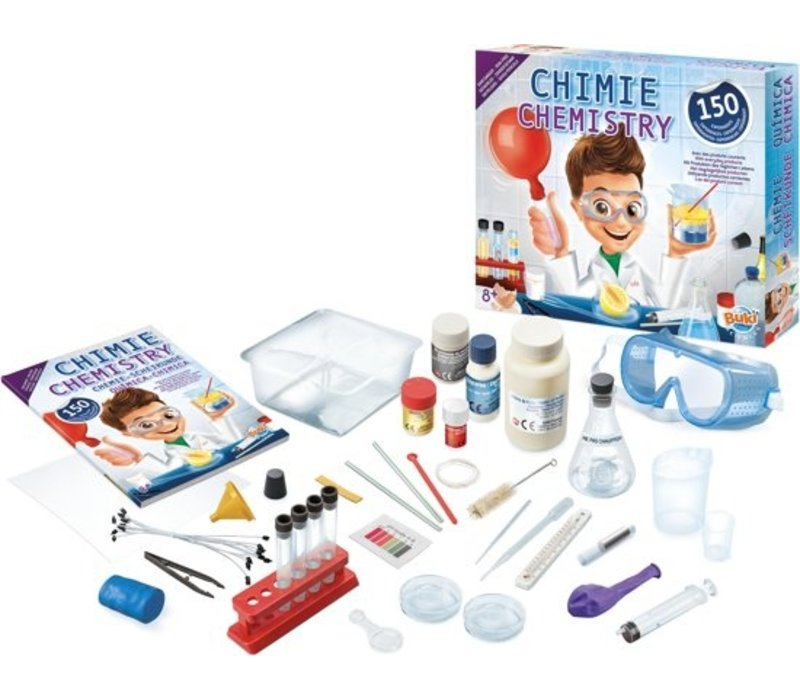 Buki Chemistry Lab With 150  Experiments