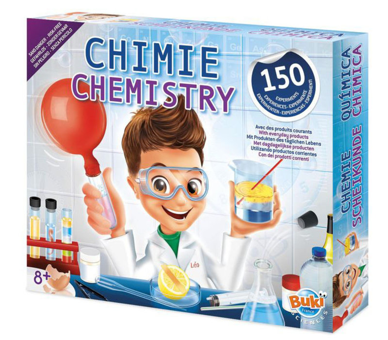 Buki Scheikunde Lab Met 150 Experimenten
