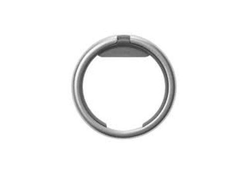 Orbitkey Orbitkey Ring Silver - Charcoal