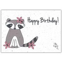 Bloom Bloeiwenskaart met Bloemenzaadjes - Happy Birthday!
