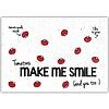 Bloom Bloom Bloeiwenskaart met Zaadjes van Tomaat - Tomatoes Make Me Smile