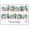 Bloom Bloom Greeting Card with Flower Seeds - Have A Sprouting Day!