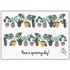 Bloom Bloom Wenskaart met Bloemenzaadjes - Have A Sprouting Day!