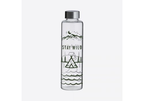 Typhoon Typhoon Pure Glass Bottle Stay Wild 600 ml