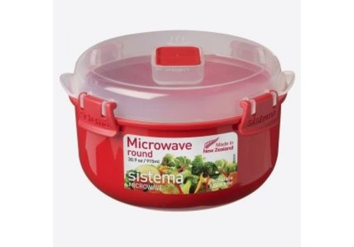 Sistema Sistema Microwave Round Bowl 915 ml