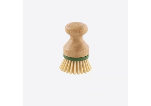 Point-Virgule Point-Virgule Bamboo Dish Brush with Replaceable Brush Head ø 7cm