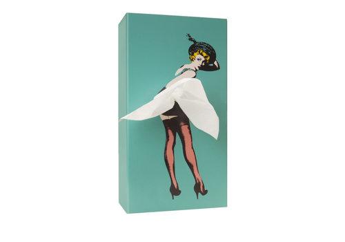 Luf Design Luf Design Tissue Up Girl Muntgroen