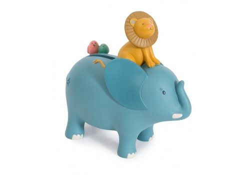 Moulin Roty Moulin Roty Money Box Elephant Sous mon Baobab