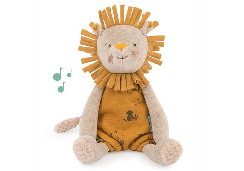 Moulin Roty Moulin Roty Musical Toy Lion Paprika 'Sous mon Baobab'