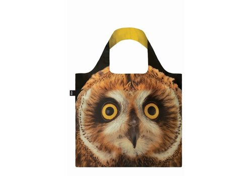 Loqi Loqi Foldable Carrying Case  National Geographic Short Eared Owl