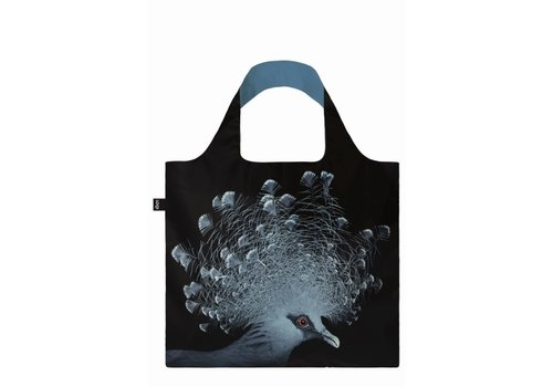 Loqi Loqi Foldable Carrying Case  National Geographic - Crowned Pigeon