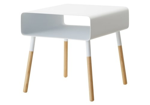 Yamazaki Yamazaki Low Side Table Plain White