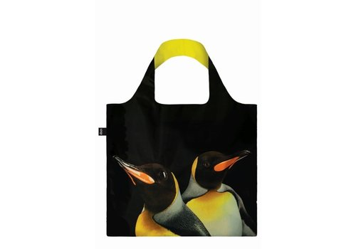 Loqi Loqi Foldable Carrying Case  National Geographic - King Penguin