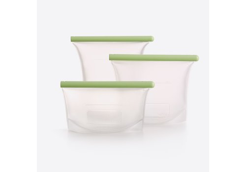 Lékué Lékué Set of 3 Reusable Silicone Bags 500ML, 1L and 1,5L