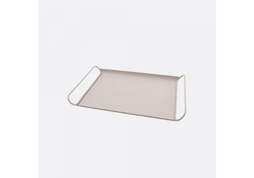 Point-Virgule Point-Virgule Metal Serving Tray Blush Pink Matt 37,5 cm