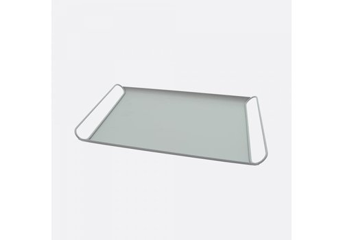 Point-Virgule Point-Virgule Metal Serving Tray Sage Green Matt 45 cm